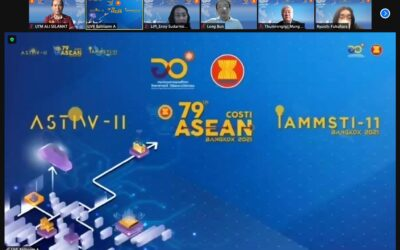 Participation to the 11th ASEAN Science, Technology and Innovation Week (ASTIW) 2021