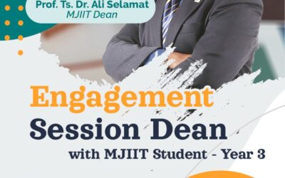 ENGAGEMENT SESSION DEAN WITH MJIIT STUDENT -YEAR 3