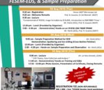 Microscopy Lab Workshop Series 4: FESEM-EDS & Sample Preparation