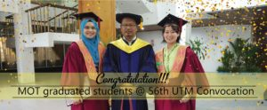 graduated students MOT