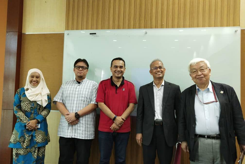 Syarikat PRASARANA Digital Tech Team visit to MJIIT