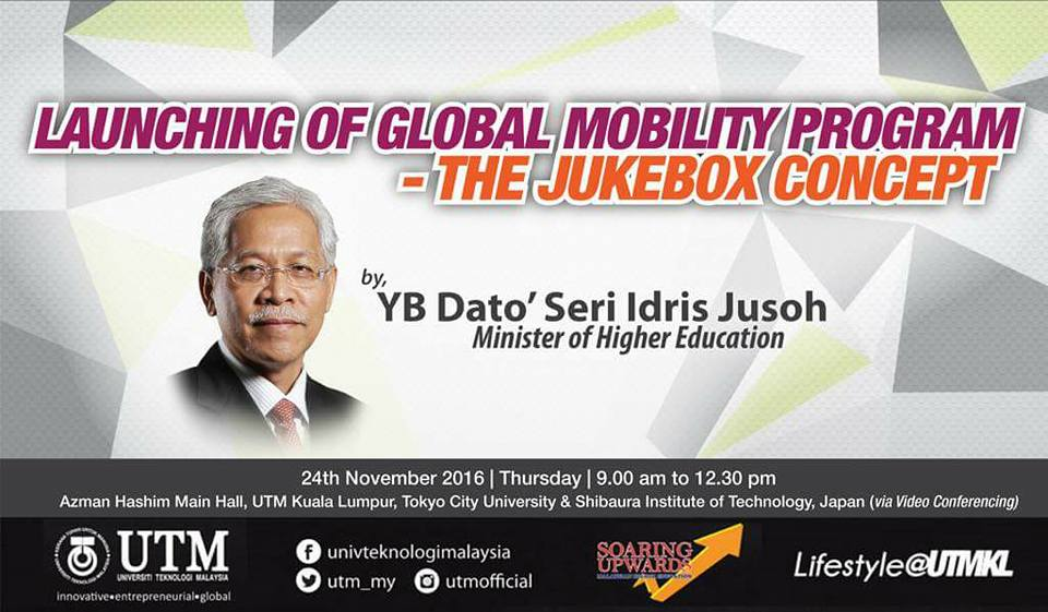 LAUNCHING OF GLOBAL MOBILITY PROGRAM – THE JUKEBOX CONCEPT
