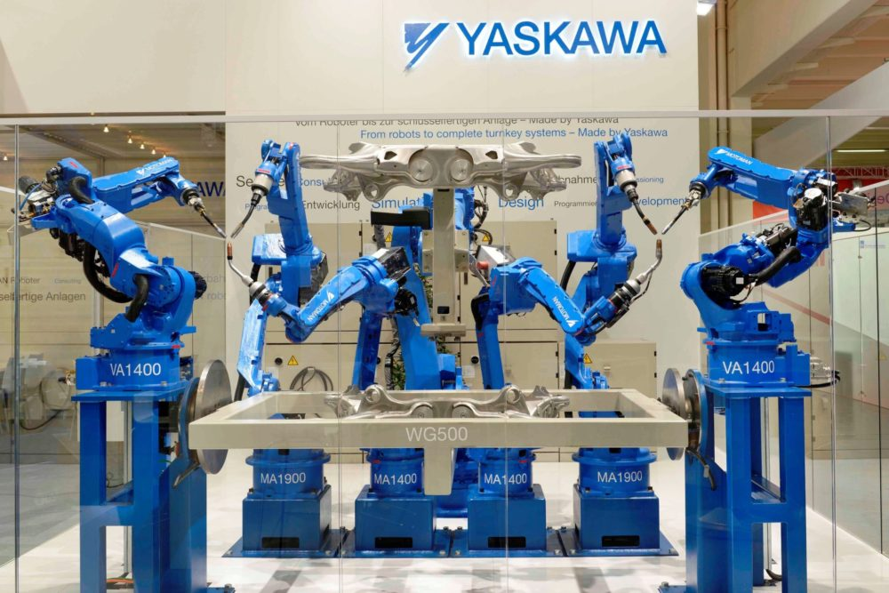 Global Mobility Program (GMP): visiting Yaskawa Company