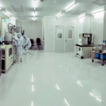 Dry Process and Deposition Facilities in Clean Room Class 10000
