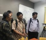 Visiting from Gadjah Mada University