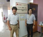 A Guest from National Institute of Technology, Ube College, Japan