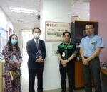 Visitor from JICA Malaysia