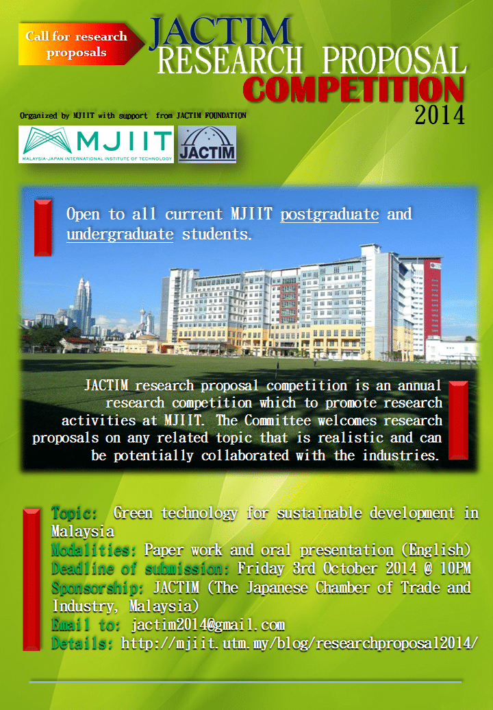jactim research proposal 2014