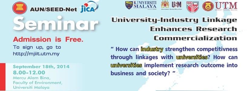 U-I Forum : U-I Linkage Enhances Research Commercialization (Read more)