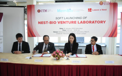 Soft Launching Joint Venture Lab between Leave a Nest Malaysia Sdn. Bhd. and Malaysia-Japan International Institute of Technology (MJIIT) at UTM
