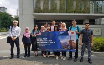 Sakura Exchange Program in Science 2019 at Tokyo City University